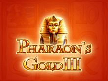Автоматы Pharaohs Gold III в казино